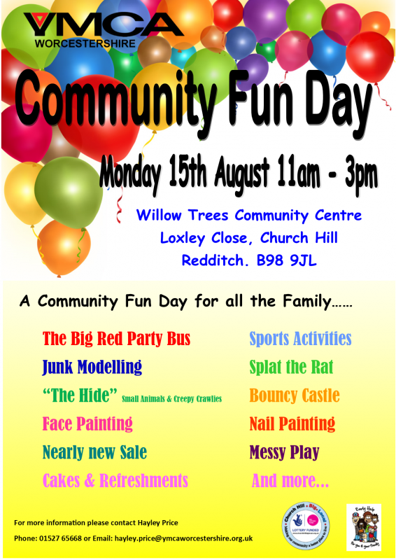 Community Fun Day For All The Family Church Hill Big Local
